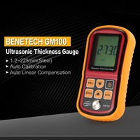 GM100 Digital 1.2~225mm Thickness Gauges Car Paint Meter Coating Thickness Gauge Meter Paint Gauge Thickness Thick Tester