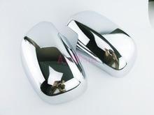 цена на Door Mirror Overlay cover 2005-2014 Protector Trim Chrome Car Styling For toyota hilux vigo Accessories