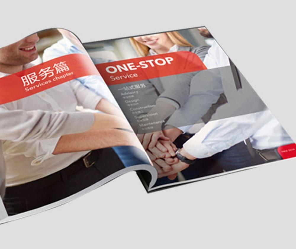 Professional Booklet Printing Customized Magazine Catalog Brochure Printing