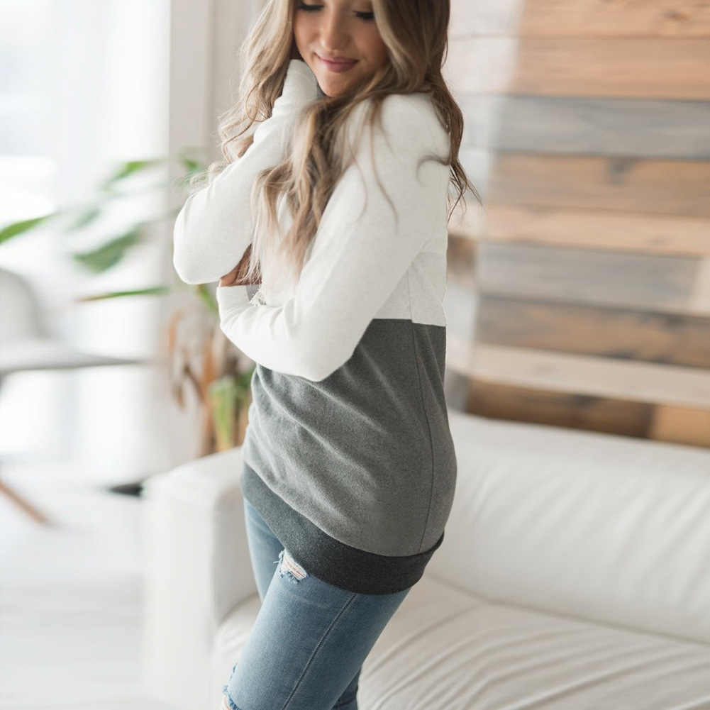 Sudadera coreana Harajuku a la moda con capucha y capucha de manga larga para mujer