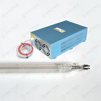 1pcs Long Lifetime 130W Co2 Laser Tube and Laser Power Supply 130w