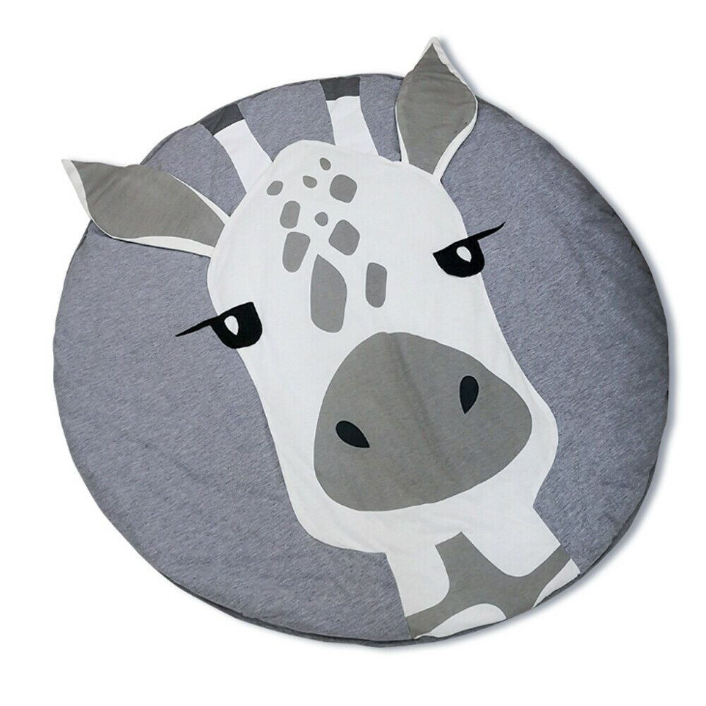 Plus Size Soft Cotton Newborn Baby Gyms Mat Playmats Infant Thick Cushion Kids Floor Rug Crawling PlayMats
