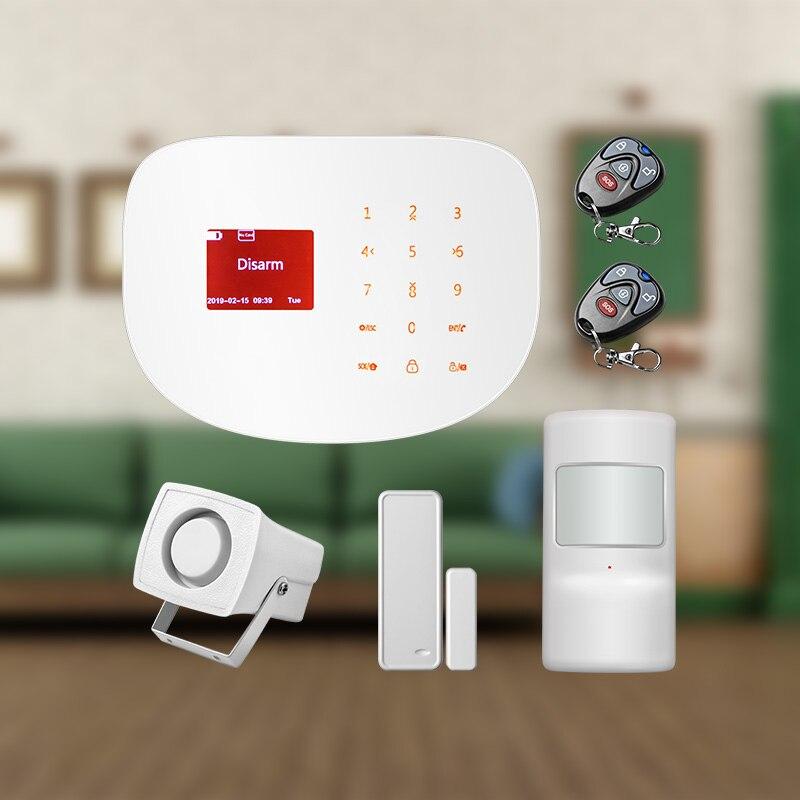 100 wireless Zone WIFI GSM GPRS APP Control Wireless Home Burglar Security Alarm System