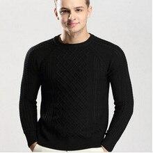 2017 Fashion Wintermantel Männer Pullover jacquard pullover Mit Rundhalsausschnitt jumper England stil Pullover Pullover blusa masculina A1223