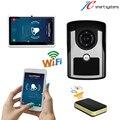 """Портативный wifi видео домофон видео-телефон двери дверь камеры беспроводные interfone 7 """"Android Tablet PC включают низкая цена"""