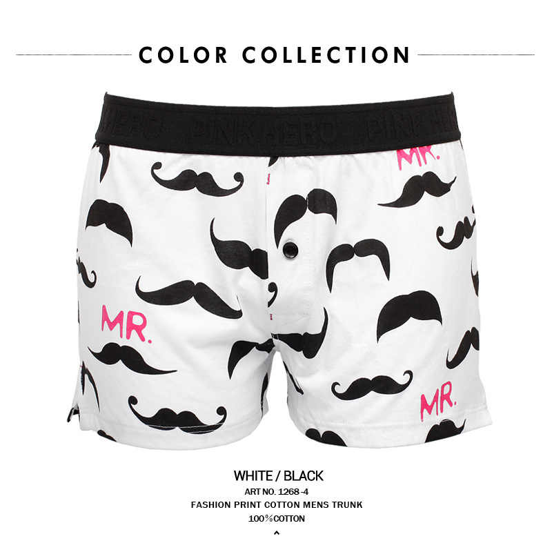 08e0b582401 ... Pink Heroes Cool Mens boxers Body Fit Breathable Red Blue Black White  Cotton Boxer Sexy Print ...