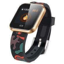 Relógio Monitor De Freqüência Cardíaca Relógio Inteligente Sono Saúde Pressão Arterial Monitor Remoto Foto Smartwatch para Amazônia Ritmo