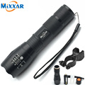 RU ZK50 Zoomable 5 Mode CREE XM-L T6 LED Flashlight LED Torch 4000LM Tactical Flashlight Camping Lantern Bike Bicycle Light