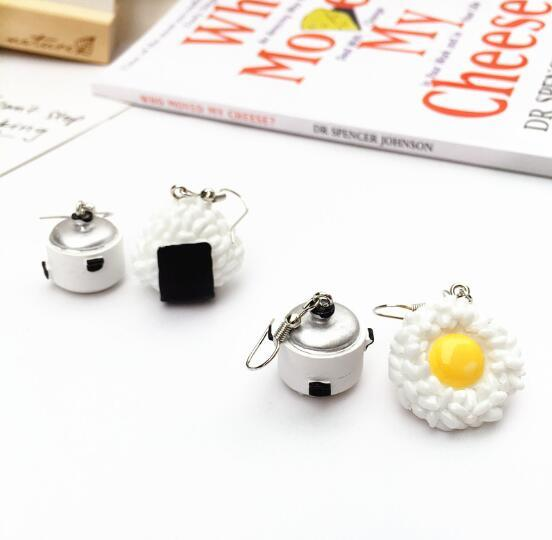 Rice Cooker Earrings