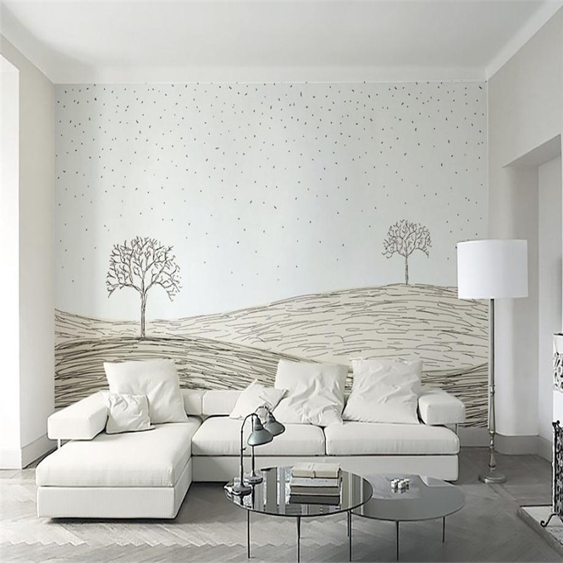 abstract wallpaper black and white wallpaper for living room wall simple nordic wall papers living room bedroom wall decorate