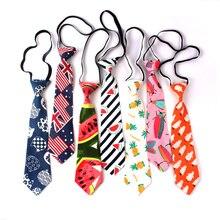 Одежда для мальчиков, галстук-бабочка белье мультфильм шеи галстук-бабочка для Детские костюмы 6 см галстуки с принтом тонкий резинки для девочек Gravatas Резиновые галстук-бабочка