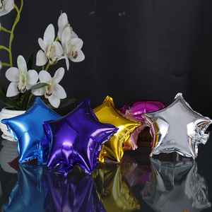10pcs/set 10inch 18inch Five Pointed Star Helium balloon Coloful Balloons Aluminium Foil wedding Balloon Birthday Party Supplies