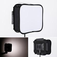 Softbox Difüzör için Led Video Işık Panel Katlanabilir Taşınabilir Yumuşak Filtre YONGNUO YN600L II YN900 YN300 YN300 III