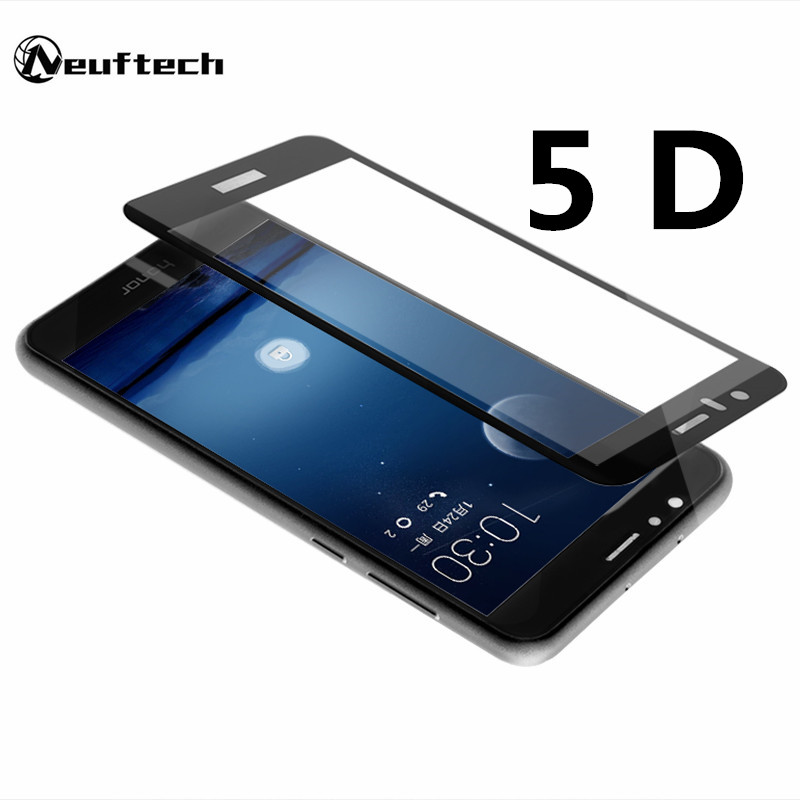 Купить со скидкой 5D Full Cover Screen Protector Tempered Glass film For Huawei Honor 10 8 9 protective glass for huaw