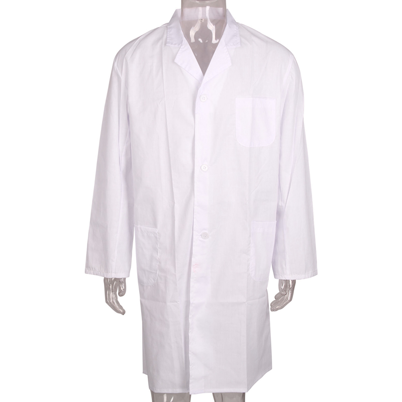 Lab Coat Hygiene Food Industry Warehouse Laboratory Doctors Medical White Coat FS99