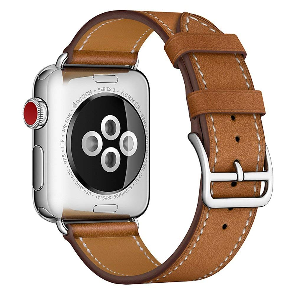 leather strap 38mm 42mm for apple watch band iwatch series 4 3 2 1 watchband bracelet replacement wrist accessories black belt leather for apple watch band 38mm 42mm butterfly buckle strap iwatch series 4 3 2 1 watchband replacement accessories wrist belt