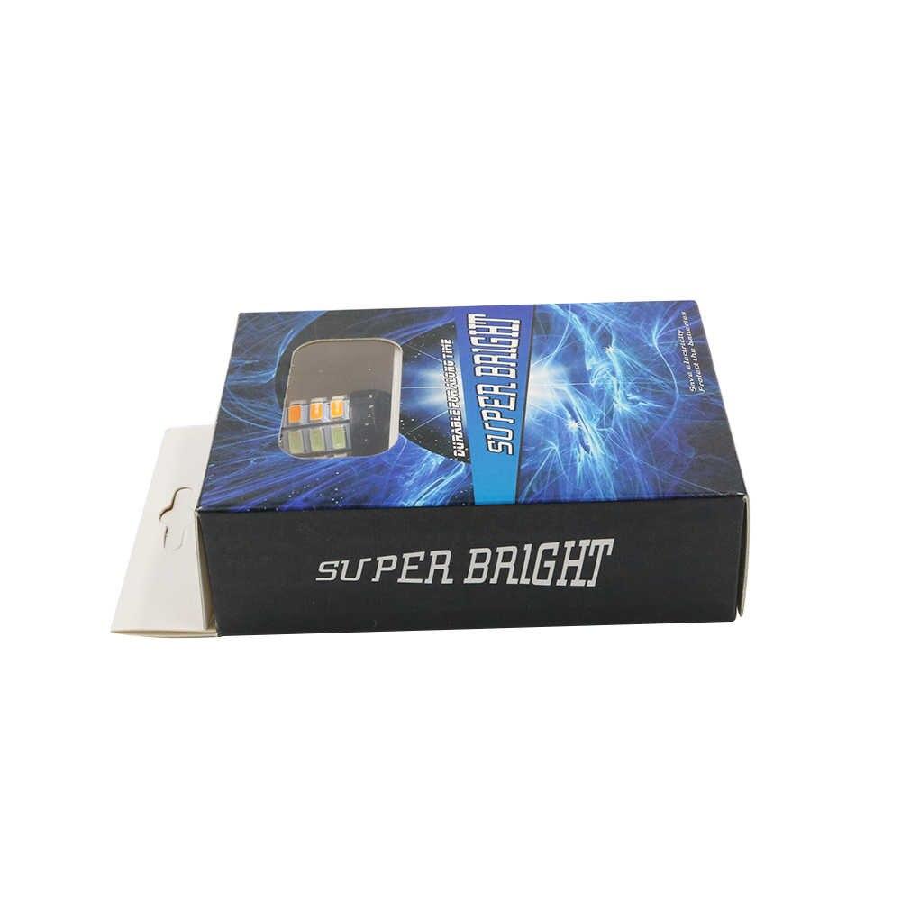 YSY 1 bộ 1156 P21W BA15S T20 7440 5630 33 SMD Băng màu xanh/màu Hổ Phách Switchback LED Bóng Đèn Kit Xe bật Led Tín Hiệu Đầu Ánh Sáng Màu Kép