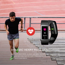Color LCD Screen Fitness Bracelet