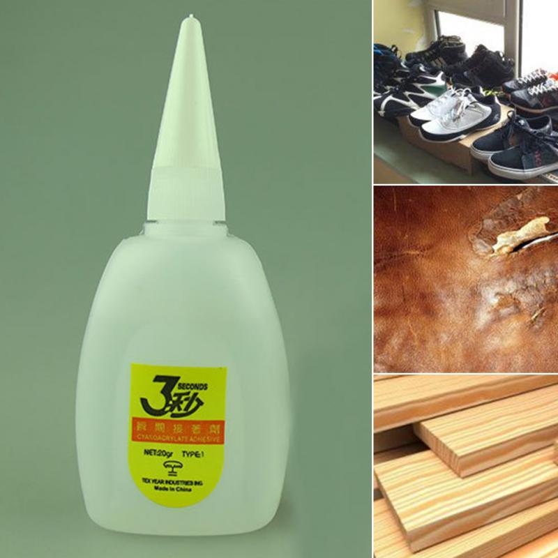2 uds Epoxies Super pegamento instantáneo de secado rápido pegamento cianoacrilato adhesivo fuerte enlace rápido para cuero goma Metal madera pegamento Almacenamiento de bordado y confección DIY    - AliExpress
