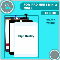 For IPad Mini 1 Mini 2 Mini 3 Touch Screen Digitizer Replacement Without Home Button No