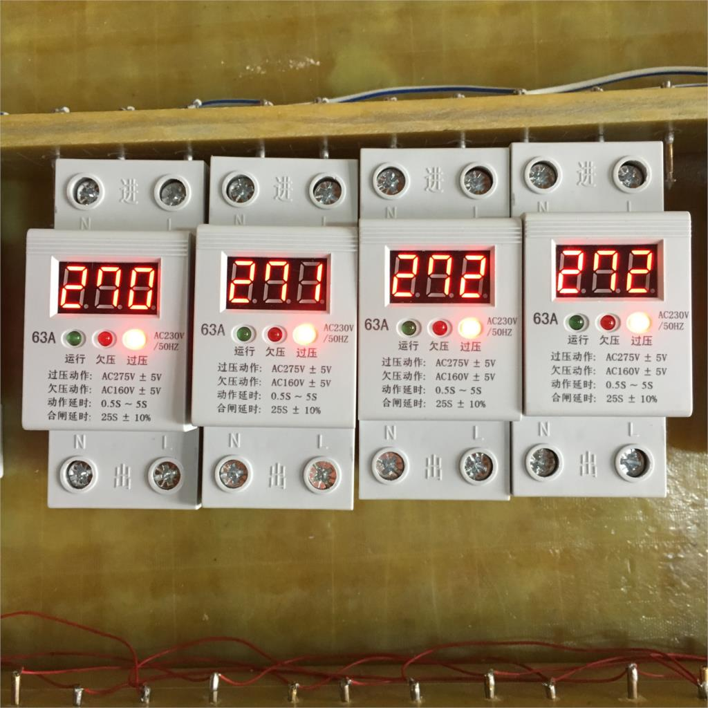 Self Dual Overvoltage Protector With Liquid Crystal Display Magnetic 5vpowersupplywithovervoltageprotectionjpg Protection Relay 63a Large Capacity Single Phase 63a220v In Circuit Breakers From Home
