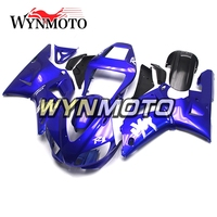 Full ABS Injection Plastics Fairings For Yamaha YZF1000 R1 Year 1998 1999 98 99 Motorcycle Fairing Kit Gloss Blue Cowlings