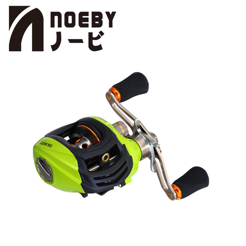 NOEBY Fishing Reels LEISURE GA1000 Right Left Hand 10+1 Ball Bearing Baitcast Reel Gear Ratio 6.3:1 Sea Fishing Tackle Pesca 4KG 12 1 bb ball bearing left right fishing spinning reels sea fish line reel