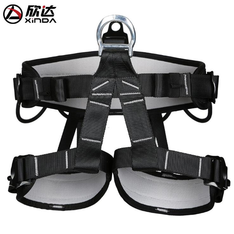 Xinda Safety Belt Outdoor Rescue Climbing Cave Aloft Safety Belt Climbing Seat Belt Climbing Seat Belt maritime safety