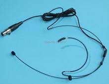 Dookólna 3 Pin zestaw słuchawkowy/mikrofon na głowę dla AKG Samson bezprzewodowy System AKG A001 COCOMICWL