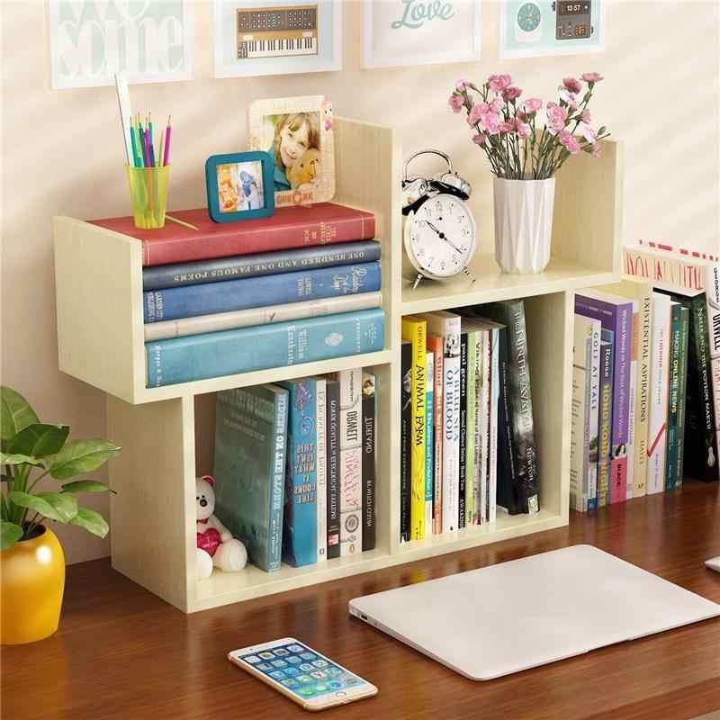 Funda de estante de libro Decoración Retro muebles para el hogar Decoración móvil Madera bosque