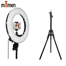 цена на Selfie Ring Light 60W 5500K LED Camera and Phone Lighting Photography High Quality circular photo lamp Youtube Video Live light