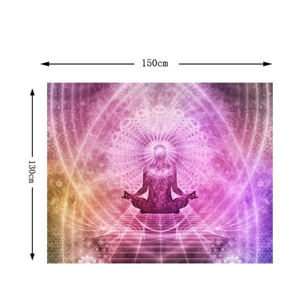Пейзаж Богемия настенный гобелен в стиле бохо Настенный Ковер фотографический фон ткань гостиная одеяло