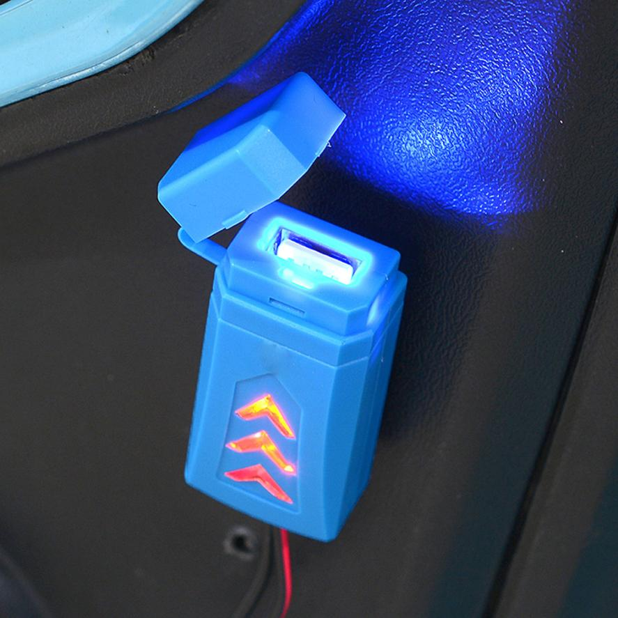 Waterproof Motorcycle Cell Phone Charging USB Charger With Switch Wonderful4.28/30%