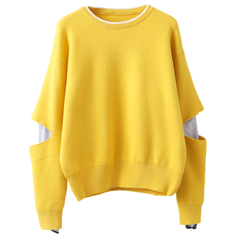 2018 summer womens long sleeve pullover sweater coat hooded jumper tops Womens Solid Sweaters Female Tricot Pull Femme Tops