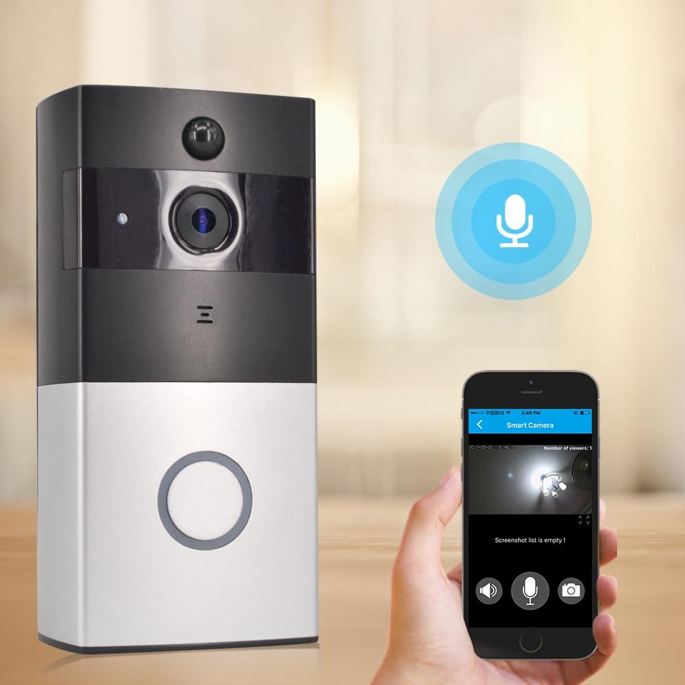 CTVMAN Wireless Video Door Phone Doorbell Camera Battery Doorphone Video Intercom System Wifi Doorbells with PIR & SD Card