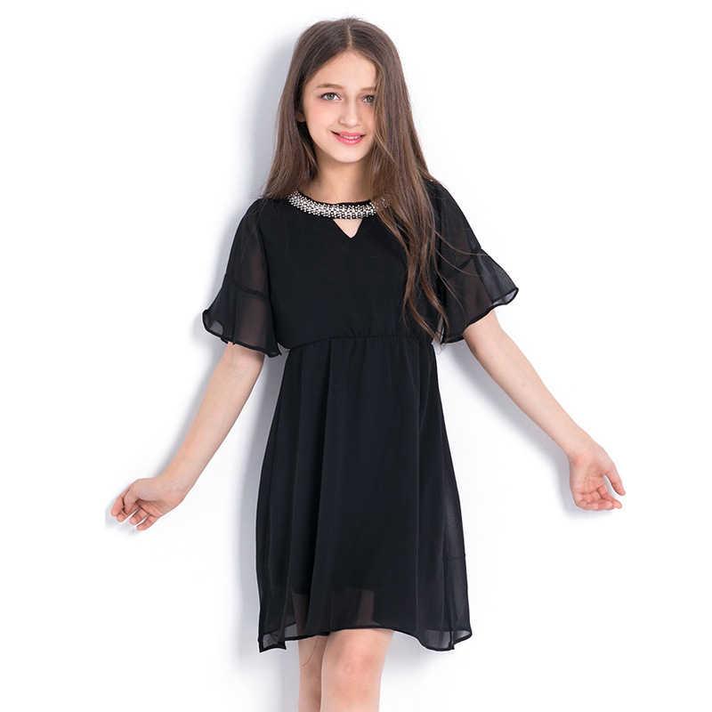 Детское платье для девочек; вечерние повседневные Летние платья; вечерние платья принцессы в полоску без рукавов; элегантное платье; одежда для подростков; От 6 до 14 лет