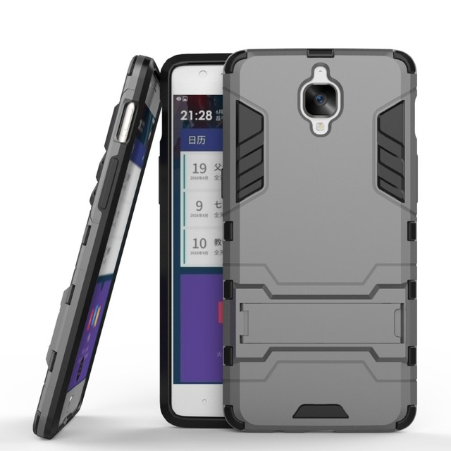 buy popular 93c7f 8846c US $2.68 6% OFF|For OnePlus 3T Case Slim Shockproof Armor Case Cover For  One Plus 3/One Plus 3T Hard Protective Case For One Plus Three-in Fitted ...