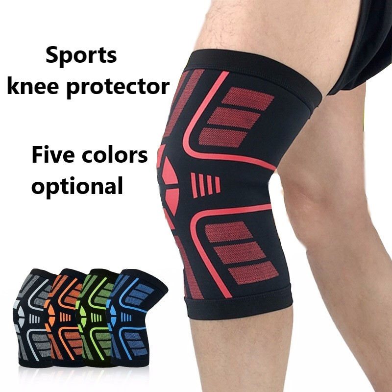 Men And Women Summer Knee-Protected Basketball Badminton Volleyball Running Riding Fitness And Mountaineering Knee Sleeve