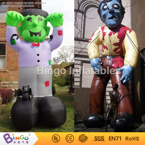 halloween inflatable Vampire Zombie 5M high monster cartoon halloween decoration Bingo inflatables BG-A1130 toy outdoor christmas decoration inflatable santa claus 20ft high 6m high factory direct sale bg a1188 toy