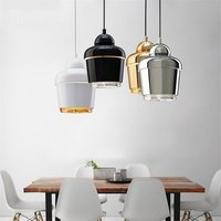 Post modern Metal Pendant Lights Gold Loft Dining Room Bar Kitchen Led Hanging Lamp Industrial Decor corridor Lighting Fixtures