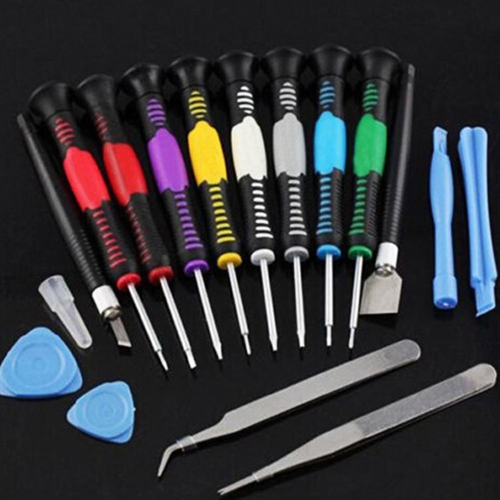 16 In 1 Hand Phone Repair Tool Set  For Mobile Cell Phones Opening Pry Repair Tool Kit Cellphone Screwdrivers Set Kit