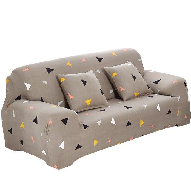1 unidad de funda de sofá antideslizante cómoda, envoltura ajustada, elasticidad, funda de diván para sala de estar, cubierta de muebles lavable antiincrustante, 24 colores