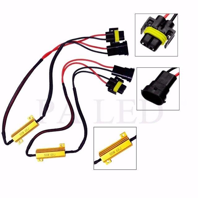 PA LED 2PCS x H8 H11 50W 6ohm Resistor Canbus Fix LED Bulb Error ...