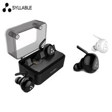 New Original Syllable D900MINI Wireless Bluetooth Earphone auriculares Stereo Headset D900 Mini Mic for iphone 6 Xiaomi 3 Phone