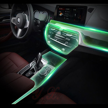 hot deal buy car sticker for bmw transparent tpu protective film stickers for bmw g30 new 5 series 528li 530li 540 interior accessories