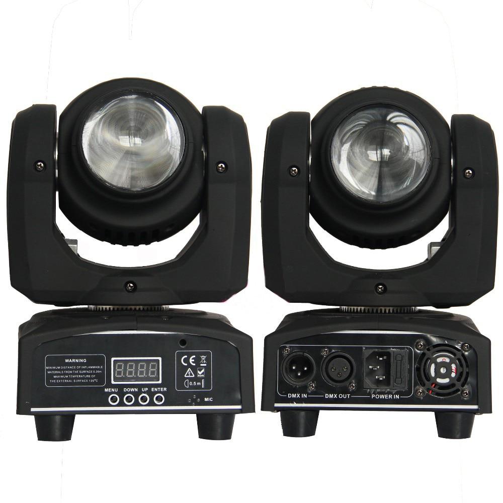 High Quality 2-side beam moving head light 2X 10W mini beam moving head light stage Disco DJ Lighting
