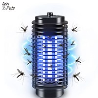 AsyPets Kryty LED Lampy Elektryczne Mosquito Zabójca Fly Bug Owad Pułapka Zwalczania Szkodników Odstraszający Komary Lamp-45