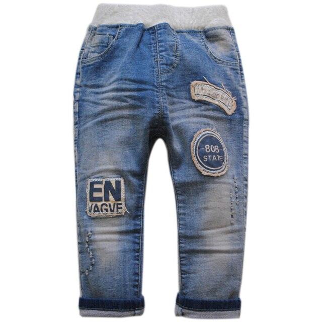 5992 детские джинсы детские мягкие джинсовые брюки весна мальчик брюки светло-голубой мягкой 2017 new kids обувь детская мода