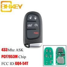 Bhkey gq4 54t умный Автомобильный ключ для jeep cherokee 2014