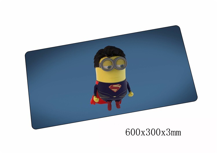 Minions mouse pads 600x300x3mm pad to mouse notbook computer mousepad best seller gaming mousepad gamer to laptop mouse mat